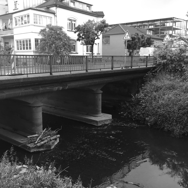 B 457, OD Büdingen, Unterführung Seemenbach