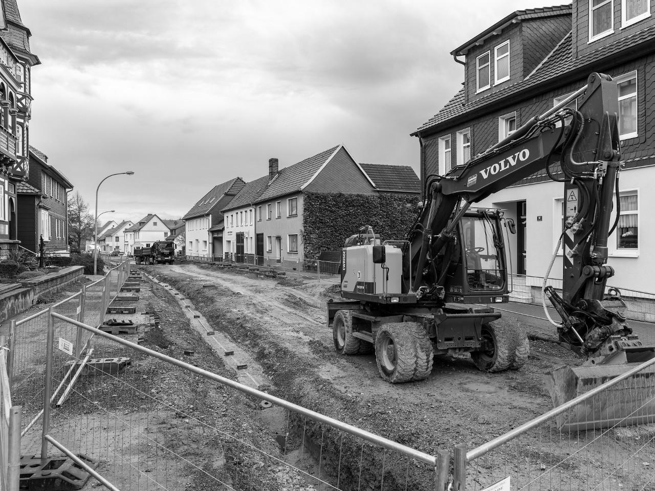Grundhafter Ausbau der Hauptstraße (L1015) in Niederorschel, 1. BA
