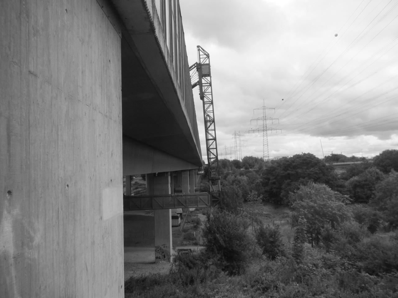 Bauwerksprüfungen an der Urselbachtalbrücke