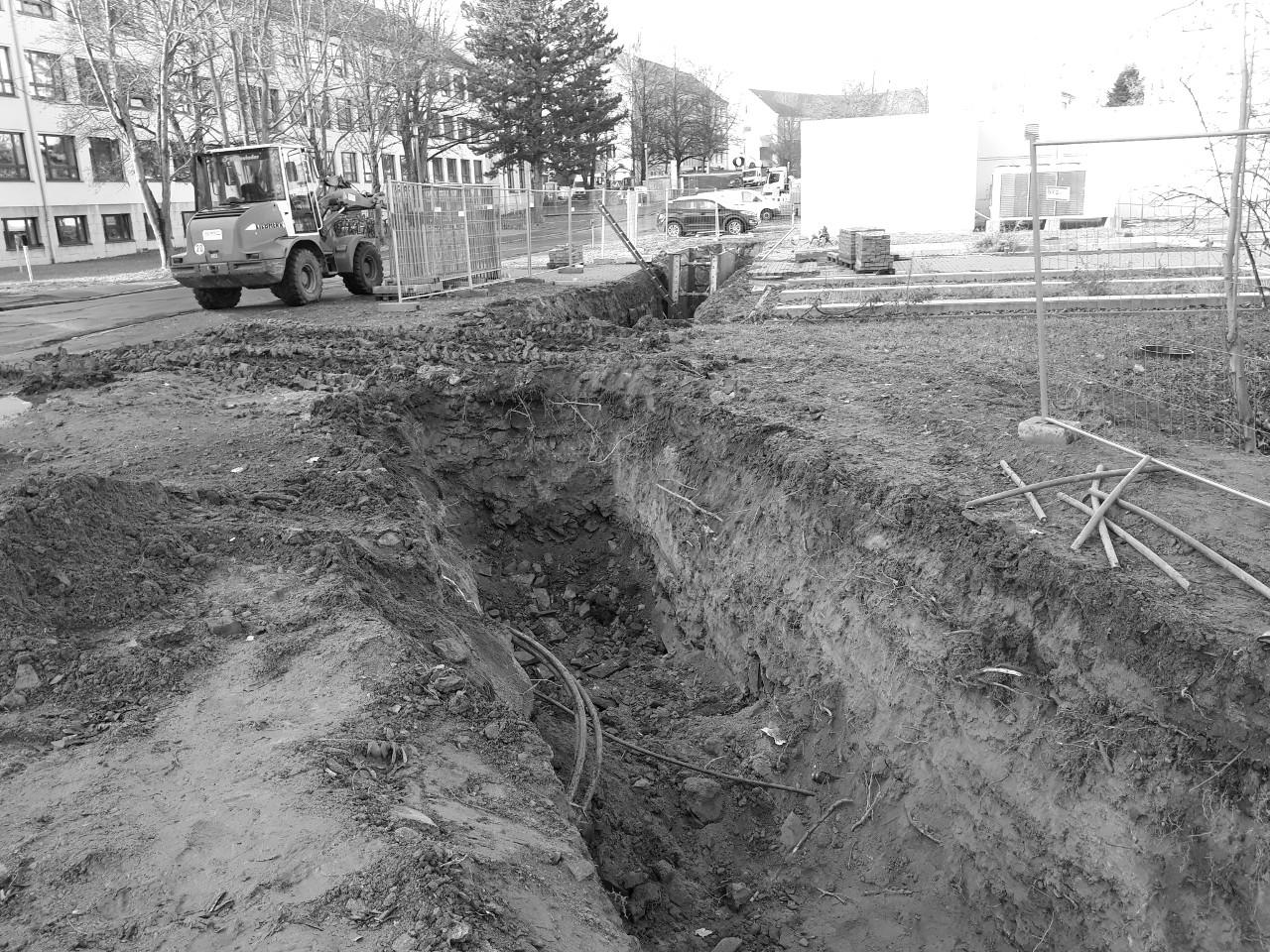 Clemens-Winkler-Bau (CWB) der TU BAF