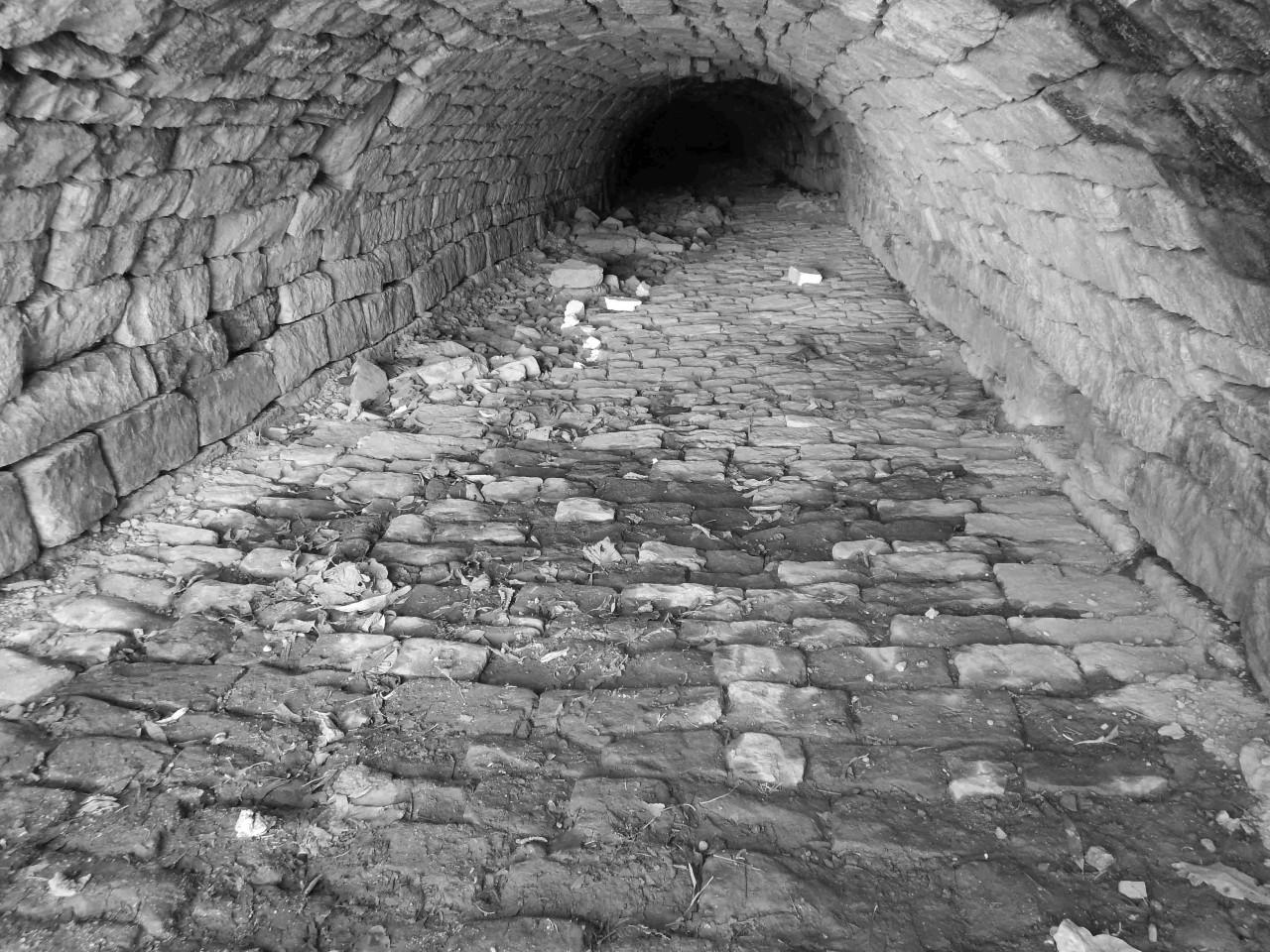 Ersatzneubau von Ufermauern, Durchlässen und Brücken zur Herstellung des Hochwasserschutzes in der Ortslage Niedernissa - Bestand Bw F