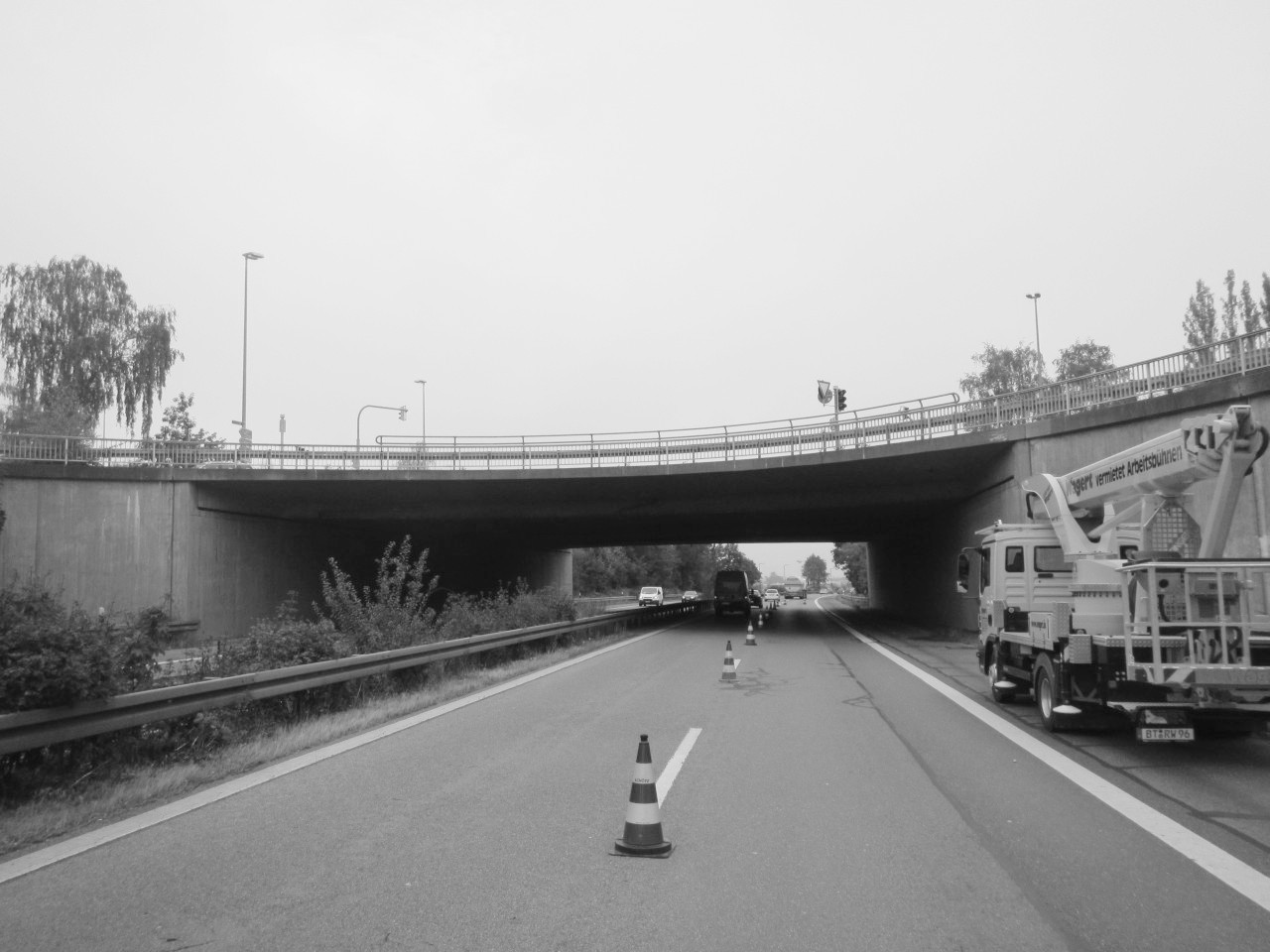 Brücke Rothenburger Straße über SWT