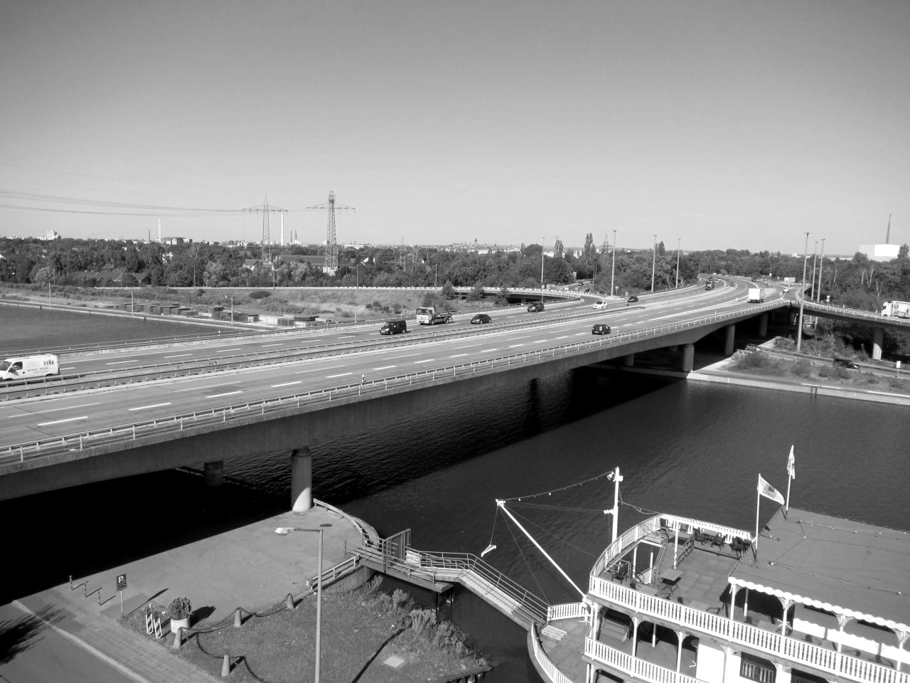 Brücke Frankenschnellweg