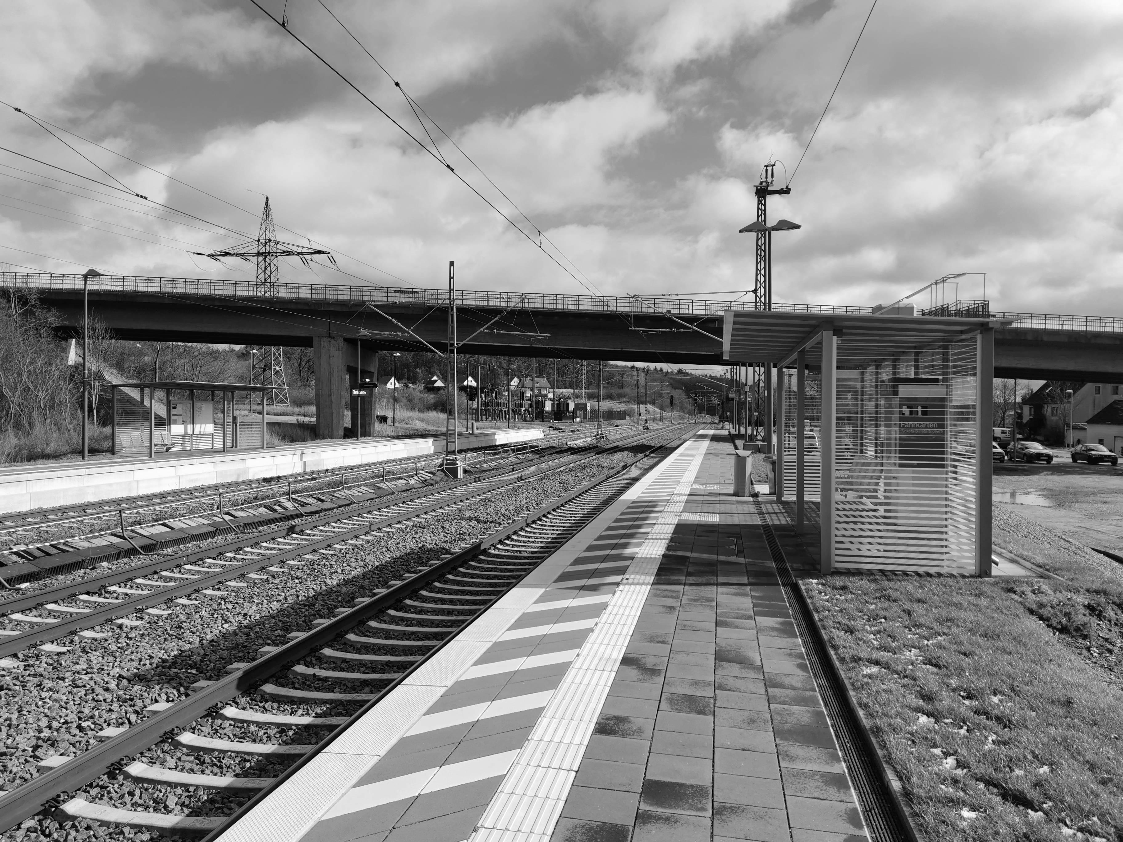 Bahnhof Oberdachstetten