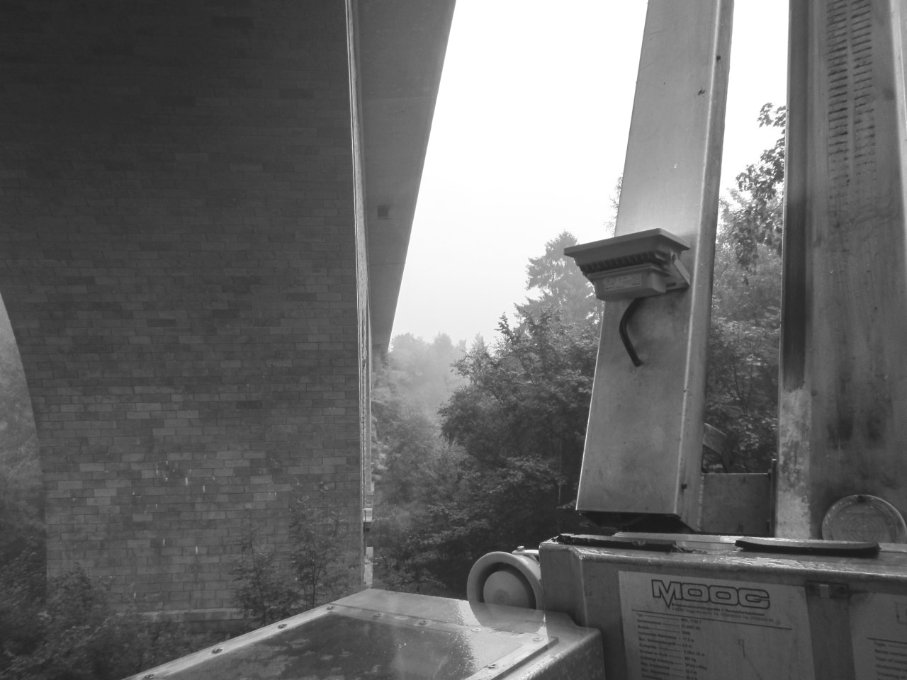 Brückenhauptprüfung Saaletalbrücke mit 20m Ausleger