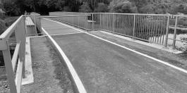 Rad- und Gehweg einschließlich Brücke Altes Heizwerk in Eberswalde