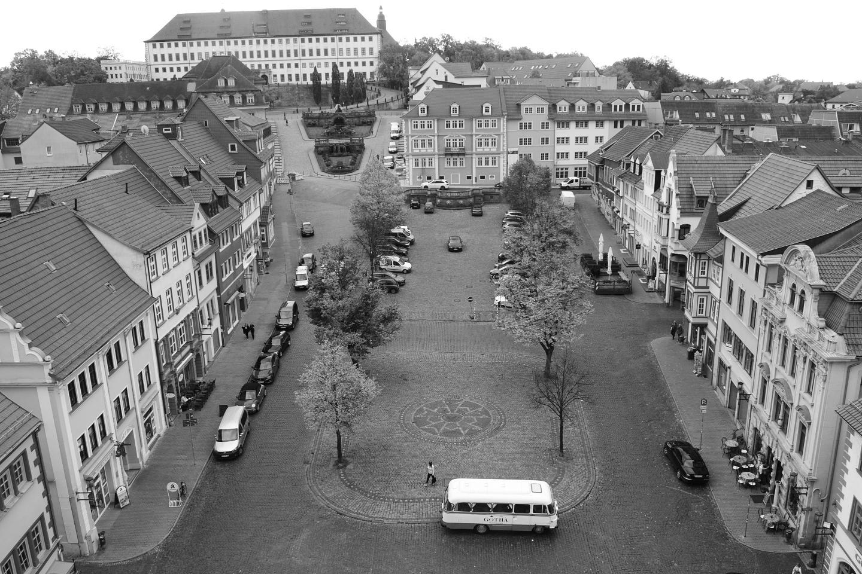 Denkmalgerechte Instandsetzung des Hauptmarktes in Gotha